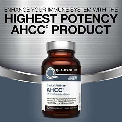 کپسول ahcc پلاتینیوم