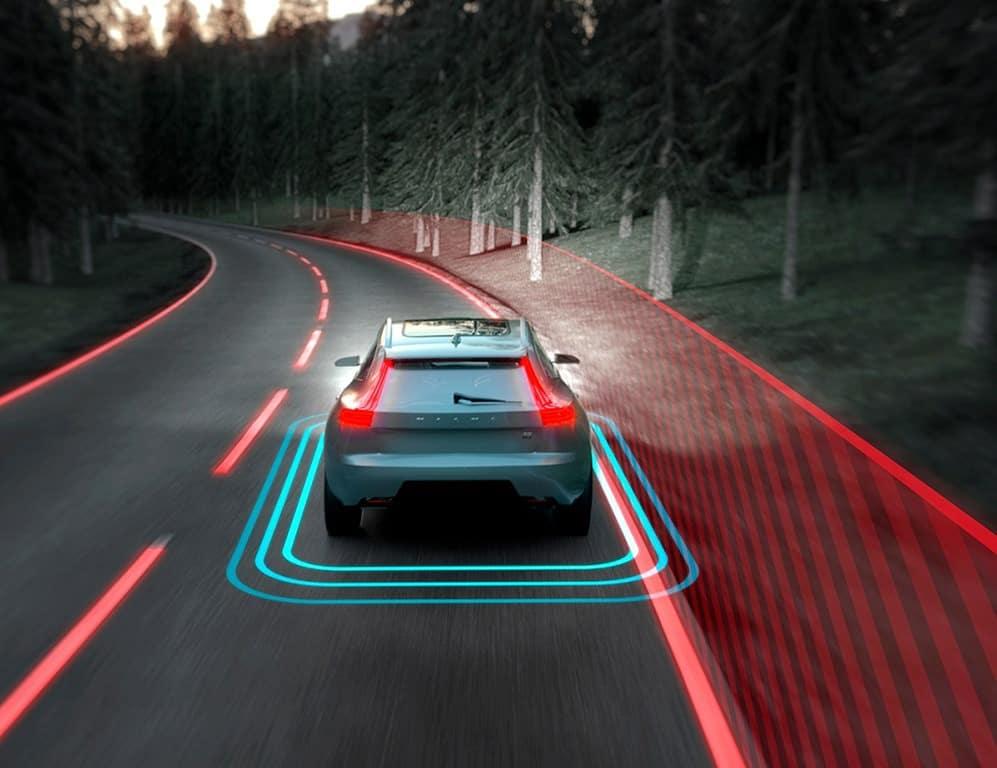 تکنولوژی حفظ خودرو در جاده ولوو
