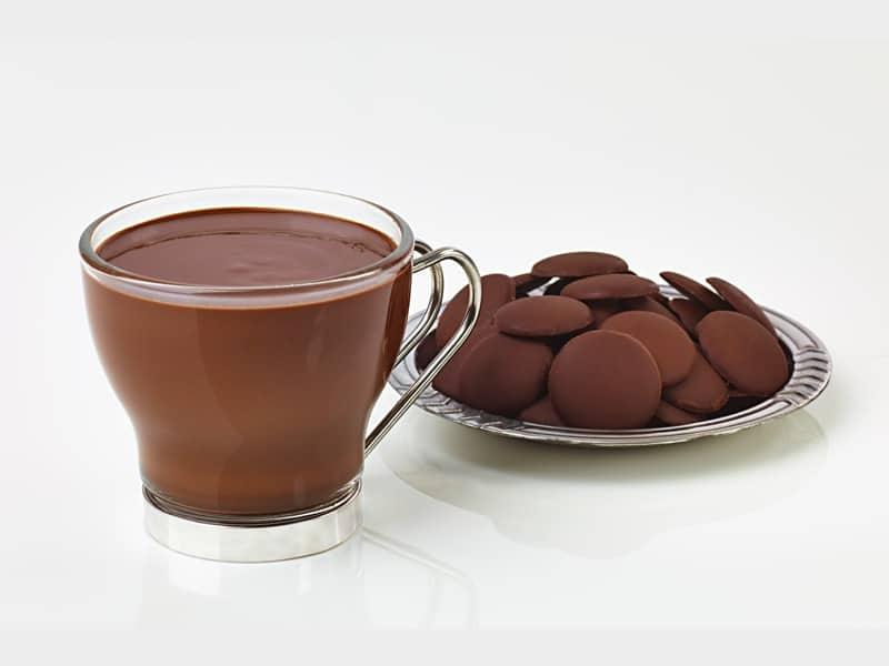 شکلات تلخ داغ