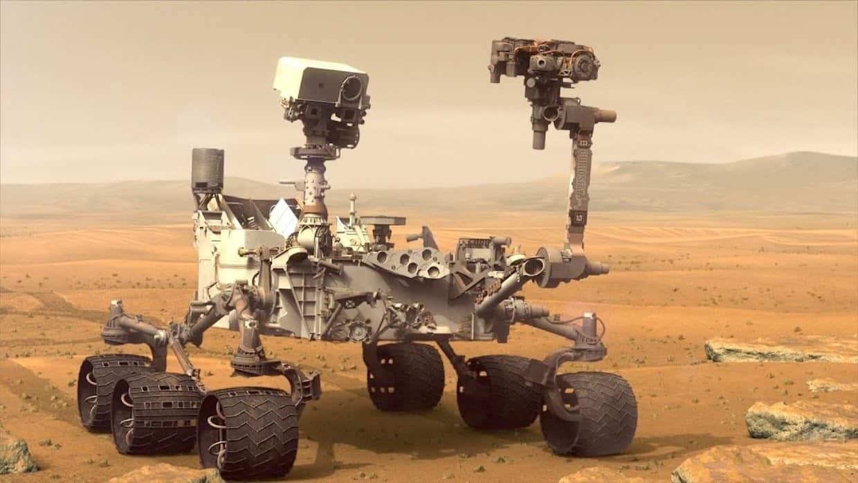 ربات مریخ نورد کنجکاوی