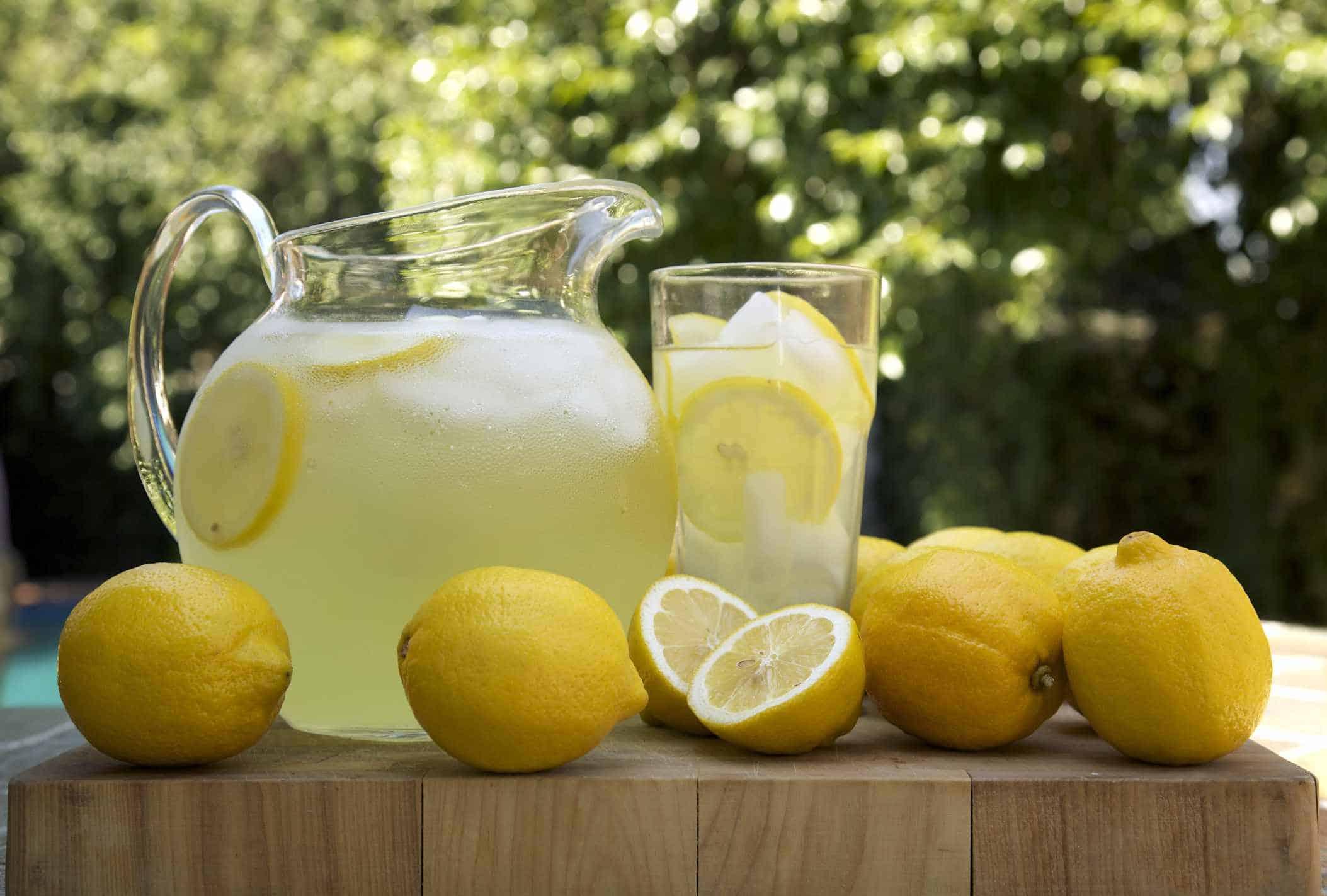 لیموناد یا شربت آبلیمو