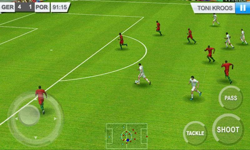 بازی موبایل real football