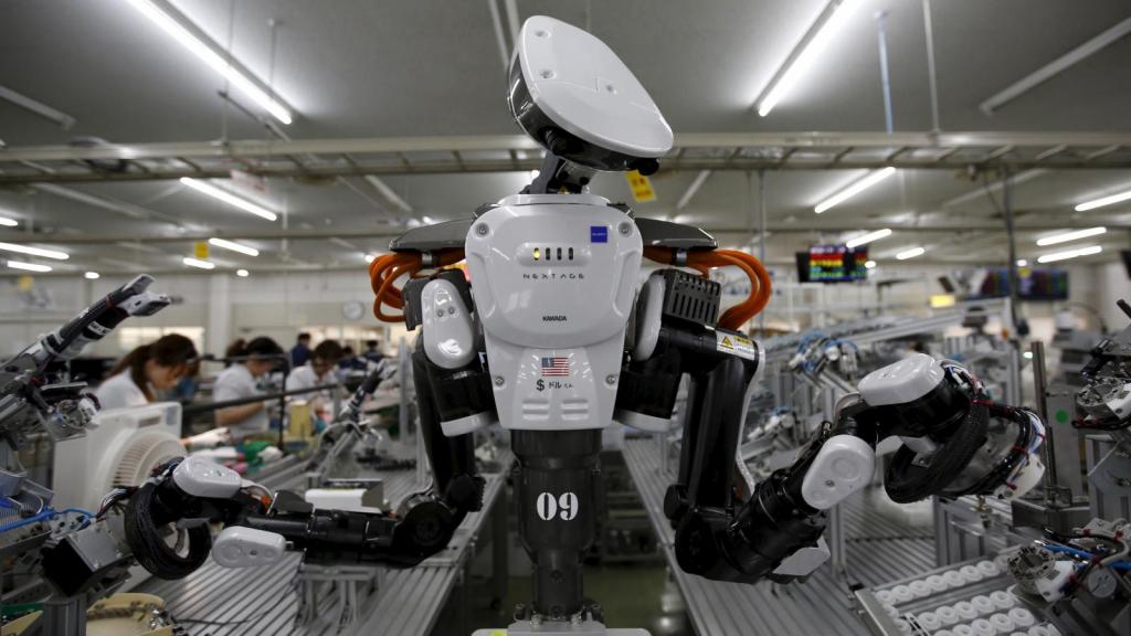 ربات های کارگر