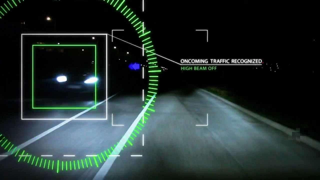 سیستم کنترل نور بالای ولوو