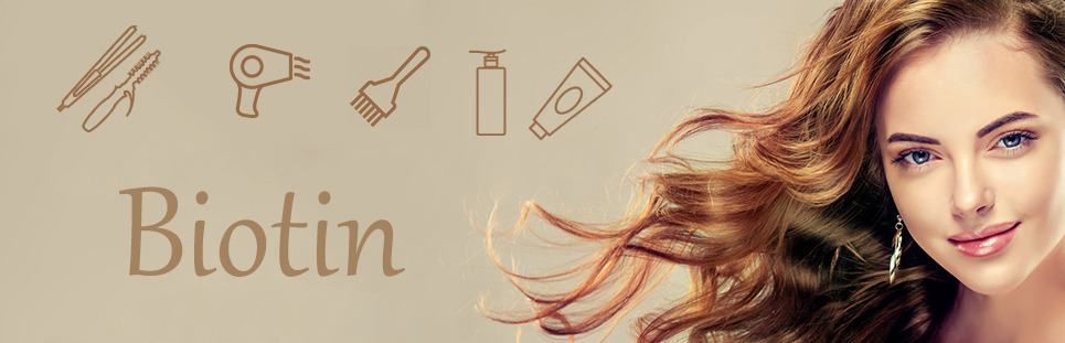 بیوتین به سلامت مو کمک میکند