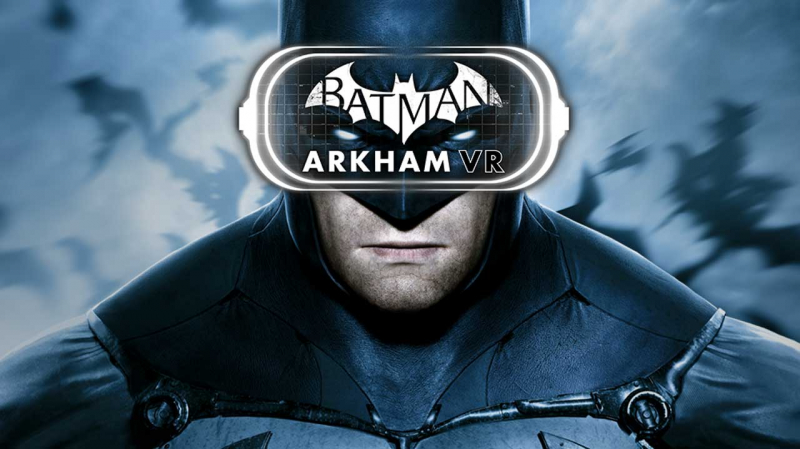 بازی واقعیت مجازی batman