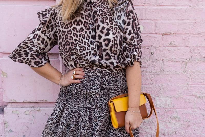 لباس پلنگی - استایل شیک