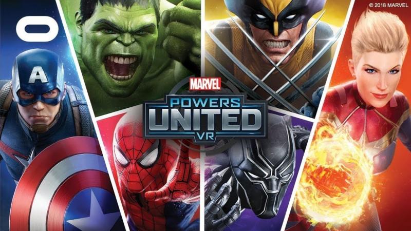 بازی واقعیت مجازی Marvel Powers Unite