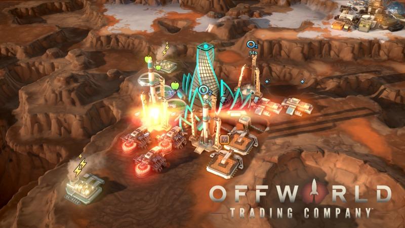 بازی استراتژیک شرکت تجاری Offworld