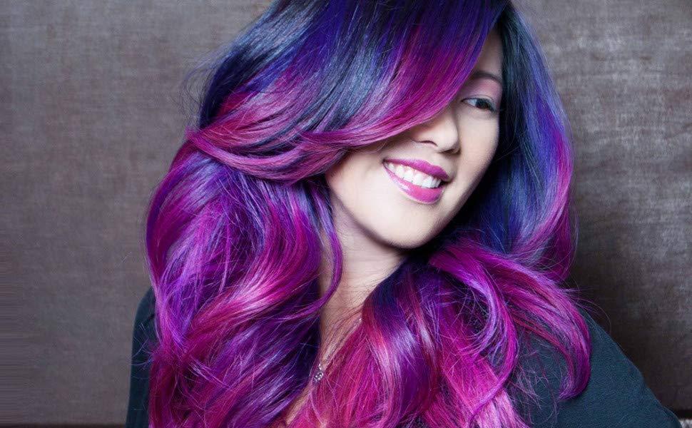راهنمای انتخاب رنگ مو