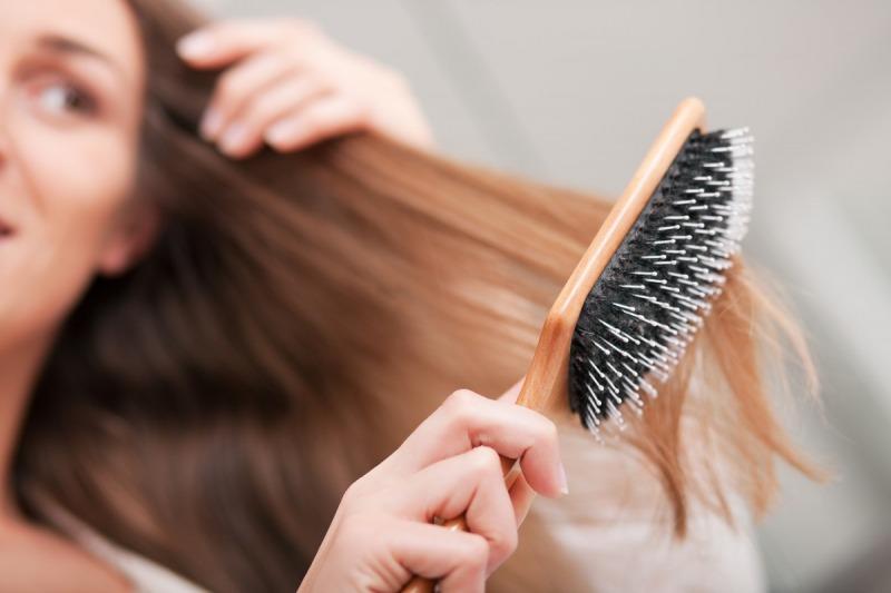 برس زدن موها