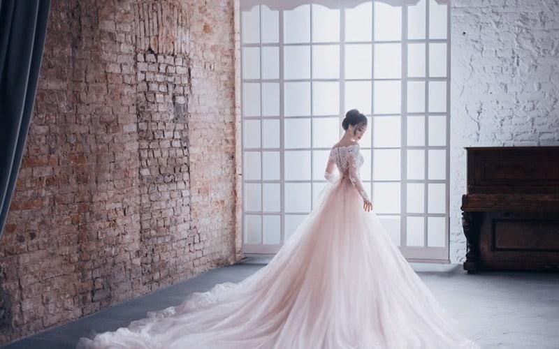 لباس عروس - لباس عروس ساده