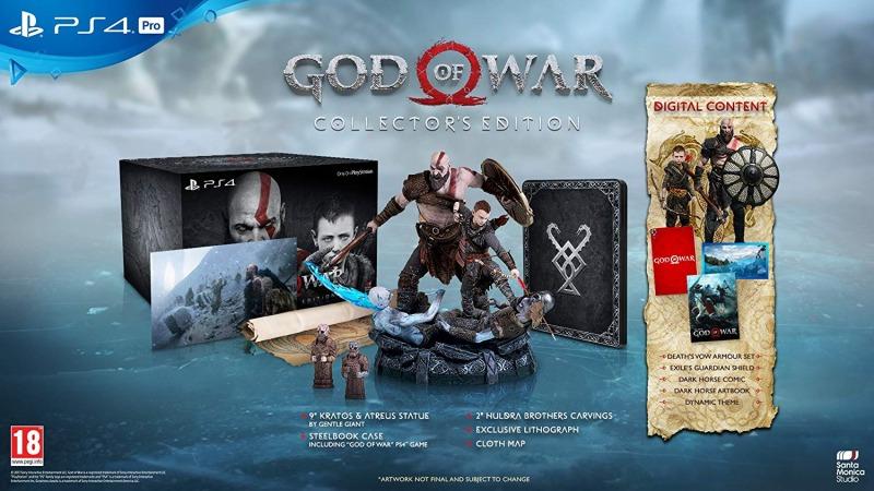 نسخه کالکتور ادیشن god of war