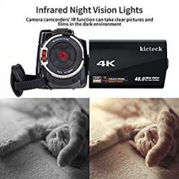 ۱۳ دوربین فیلم برداری حرفه ای FULL HD با دید کامل در شب