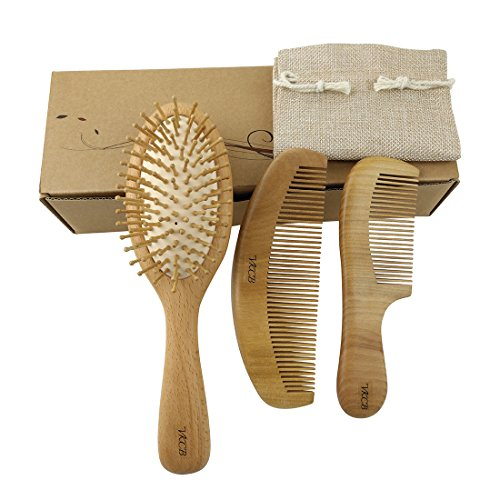 Natural Wood Hair Brush