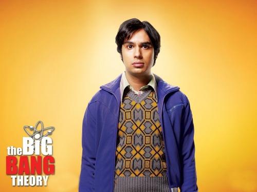 راج کوتراپالی در سریال تئوری بیگ بنگ