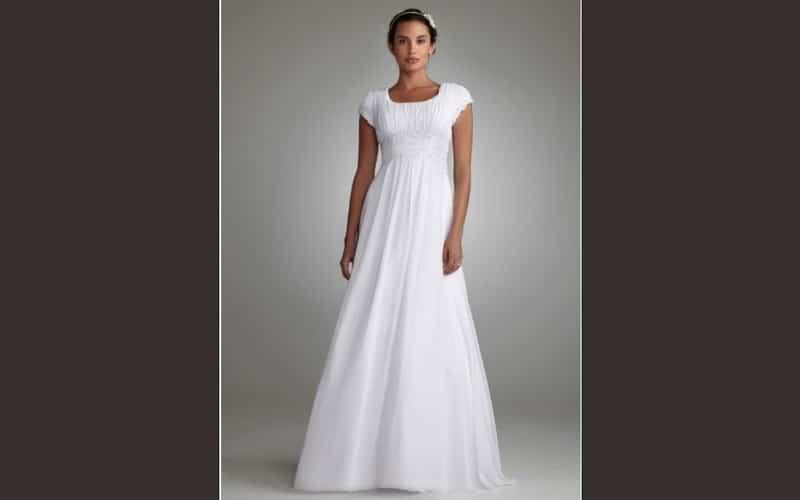 لباس عروس - لباس عروس برای عروس قد کوتاه