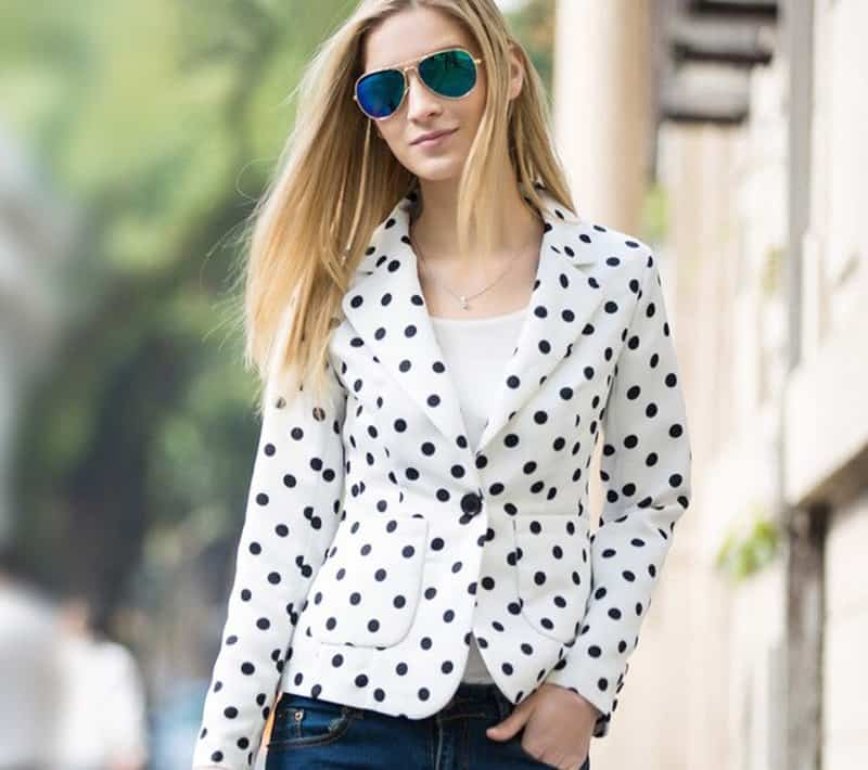 لباس خال خالی پیراهن خال خالی و مدل لباس خال خالی ۲۰۱۹ که عاشق آن می شوید