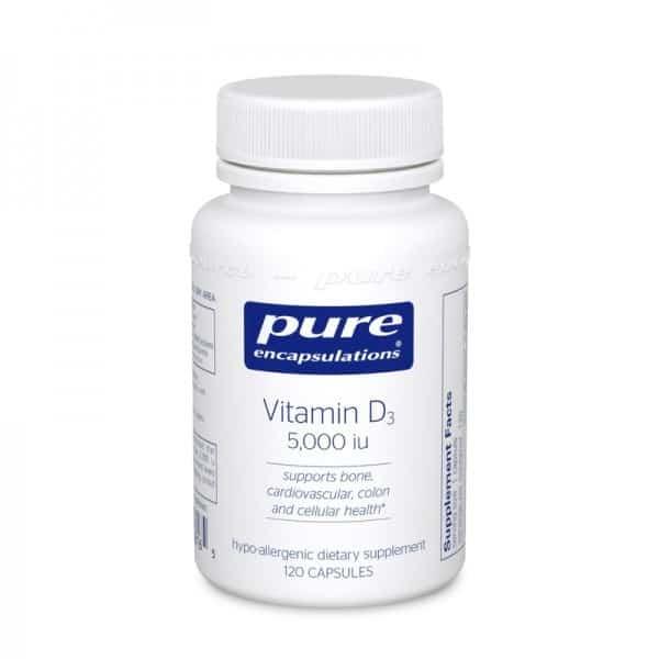 ویتامین D3 از برند Pure Encapsulations