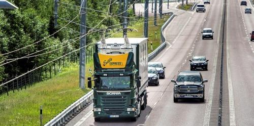 بزرگراه الکتریکی - نمونه اجرا شده در اسنکهلم سوئد