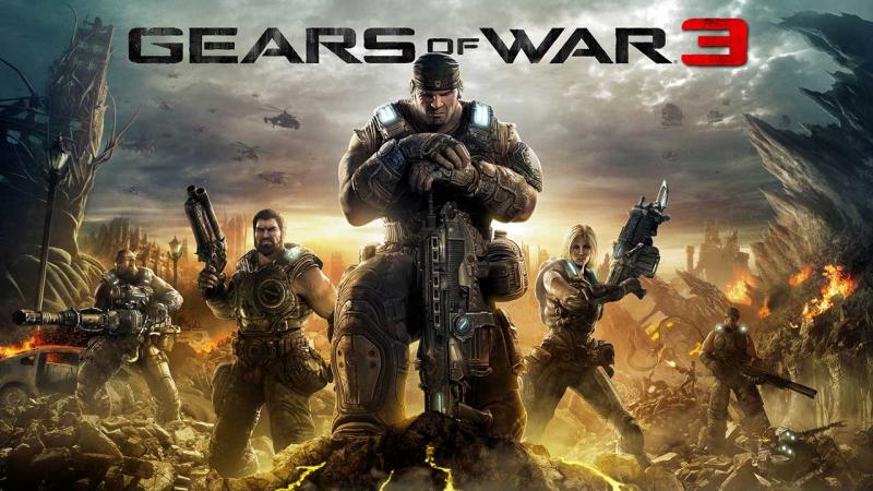کات سین بازی gears of war 3