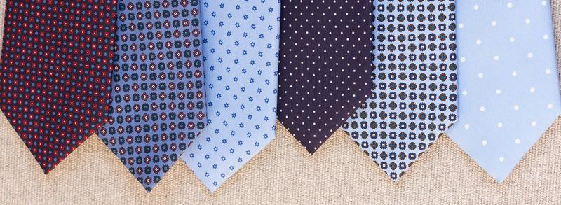 انواع کراوات - جنس کراوات