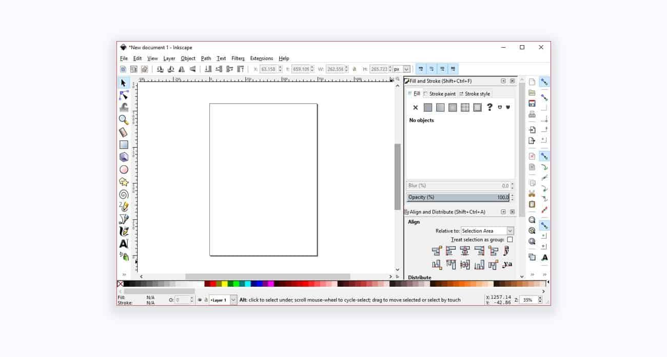 ویرایشگر inkscape