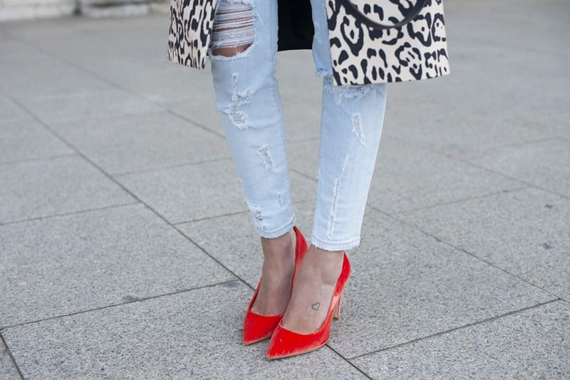 شلوار جین - شلوار جین چسب
