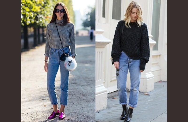 شلوار جین - کفش مناسب شلوار جین