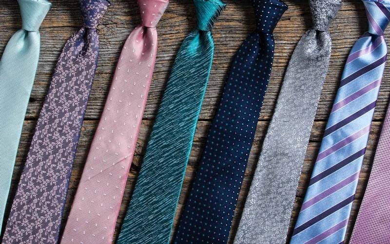انواع کراوات - قد کراوات