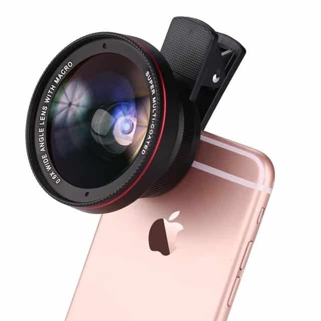 لنزهای دوربین موبایل 1