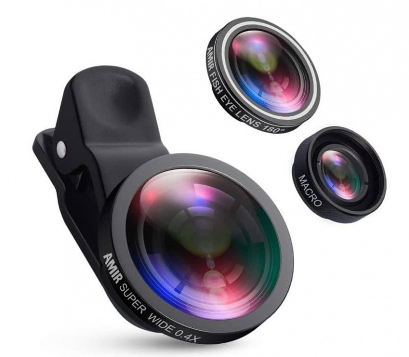 لنزهای دوربین موبایل 2