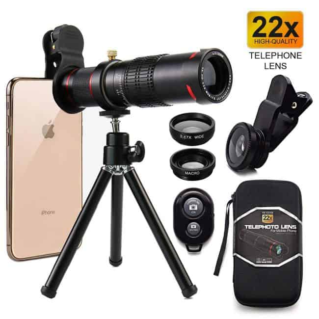 لنزهای دوربین موبایل 32