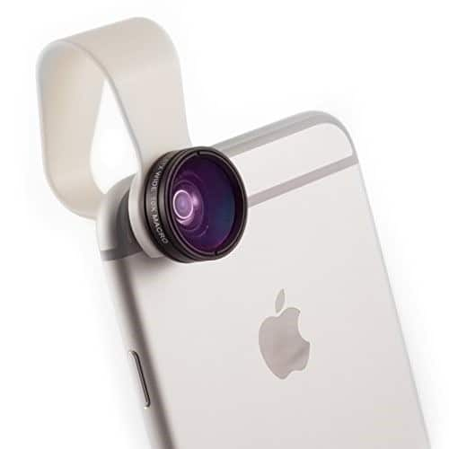 لنزهای دوربین موبایل 4
