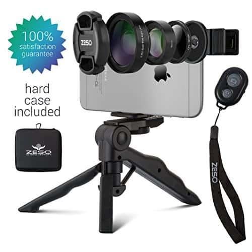 لنزهای دوربین موبایل 6