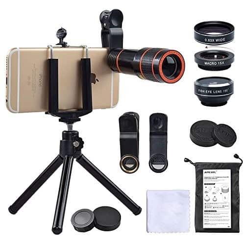 لنزهای دوربین موبایل 7