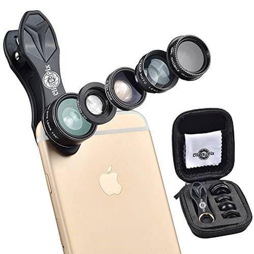 لنزهای دوربین موبایل 8