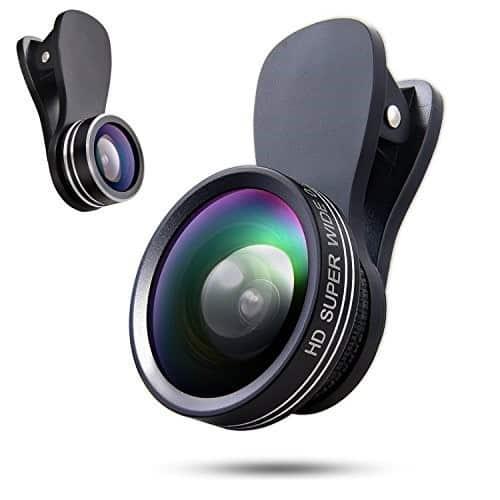 لنزهای دوربین موبایل 9
