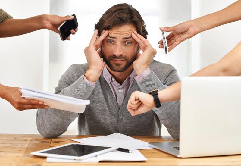 تاثیر استرس روی فشار خون بالا