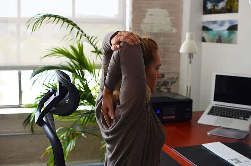 ورزش برای درد کتف و شانه