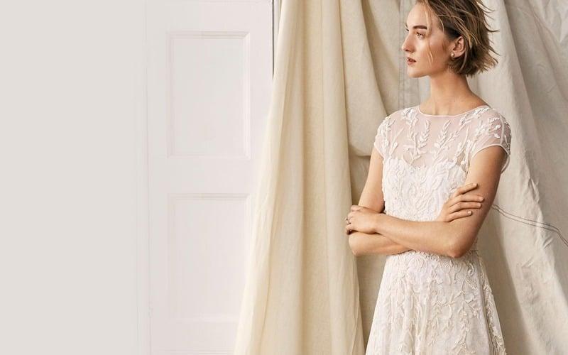 لباس عروس - عروس لاغر اندام