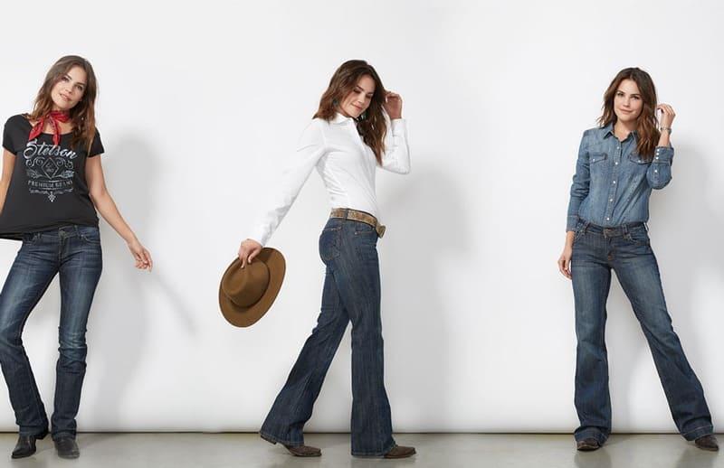 شلوار جین - شلوار جین زنانه و کفش مناسب