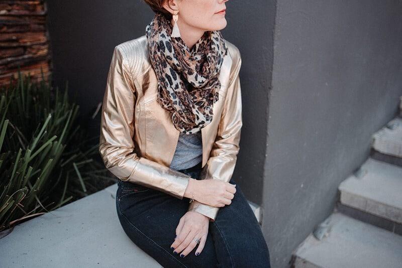اسکارف سر -دستمال گردن پلنگی