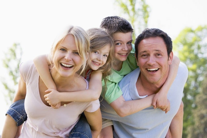 سبک زندگی سالم خانواده سالم و شاد بدون فشار خون