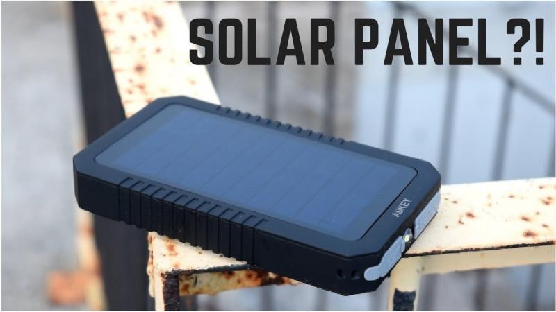 پاوربانک خورشیدی AUKEY