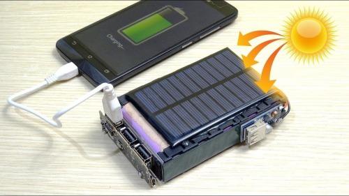 عملکرد پاوربانک خورشیدی