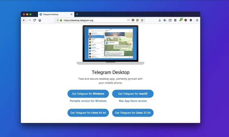برنامهی تلگرام را برای ساخت ربات تلگرام نصب کنید
