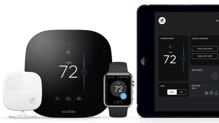 Ecobee Smart Thermostat در خانه هوشمند