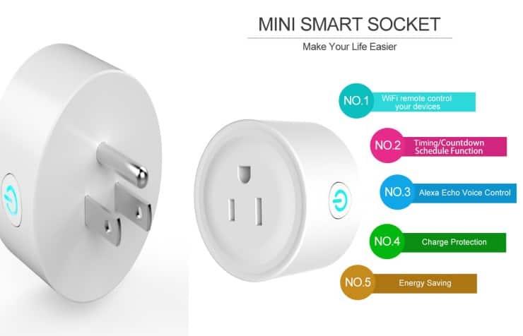 Smart Plug WiFi Outlets در خانه هوشمند