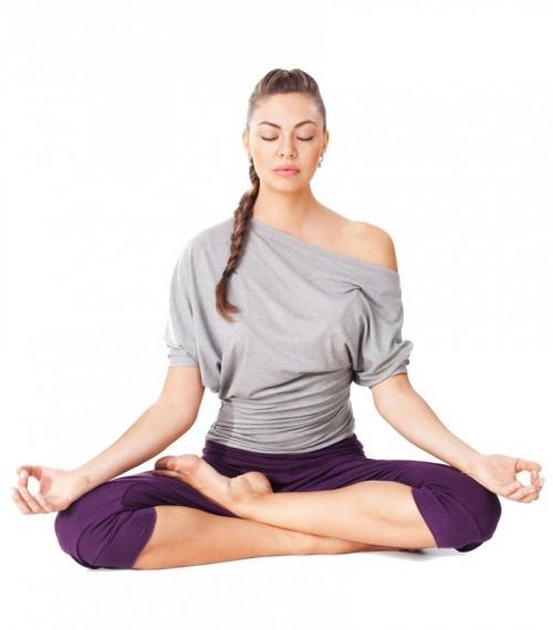 کاهش کلسترول خون با ورزش یوگا